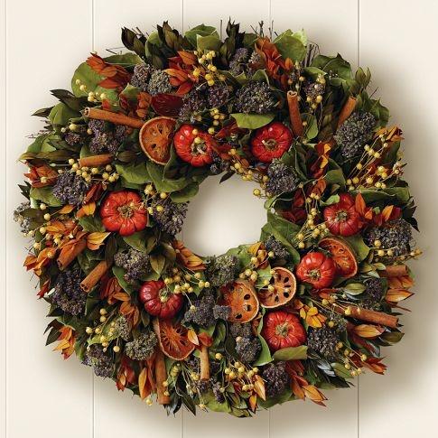 quince & cinnamon stick wreathOutdoor Decorations, Fall Decor, Cinnamon Sticks, Doors Decor, Williams Sonoma, Williamssonoma, Front Doors, Fall Wreaths, Sticks Wreaths