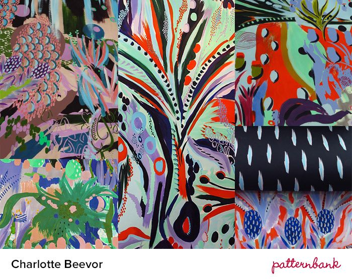 New Designers 2014 Part 1   Print & Pattern Graduate Highlights print pattern // charlotte  Beevor