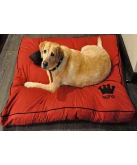 Personalised Dog Bed-Red Online - Heds Up For Tails