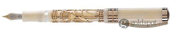 Visconti Monaco Royal Wedding Stub Nib Fountain Pen