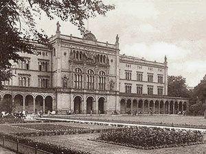 Альбертина - Кёнигсбергский университет, ныне - РГУ им. Канта