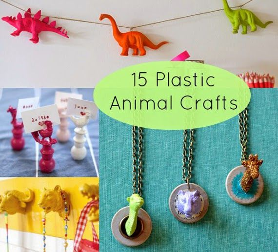 15 Creative Ways to Upcycle Plastic Animals into Something Awesome