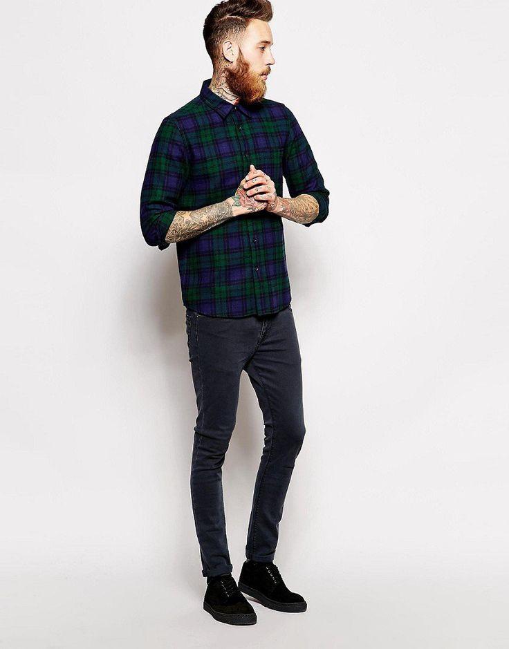 チェックシャツ着こなし【メンズ2016最新】 | 男前研究所