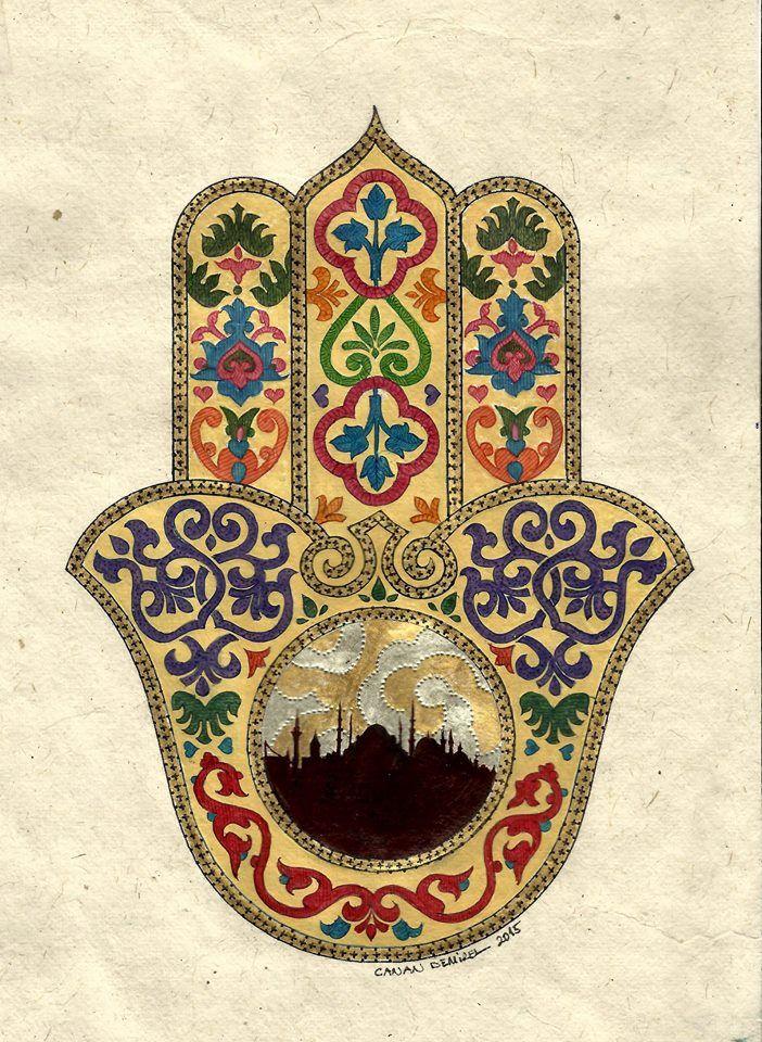 Canan Harmanci Demirel Hamsa Hand Of Fatima