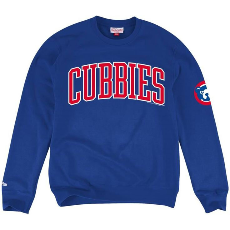 Chicago Cubs Royal Vintage Cooperstown Sweatshirt  #ChicagoCubs #Cubs #MLB #FlyTheW