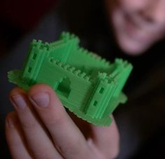CAD programming is a bit complicated for younger students, but many of them have mastered Minecraft. Printcraft is a program that allows users to 3D print anything they create on Minecraft. What a fun way to introduce 3D printing!
