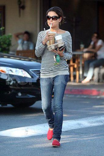 Mila Kunis In Paige Premium Denim