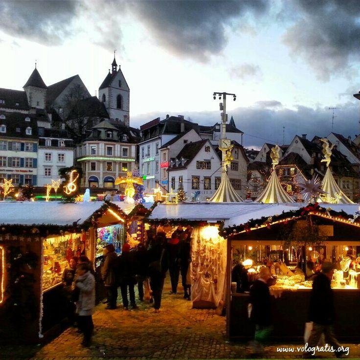 I mercatini di Natale di Basilea sono bellissimi!