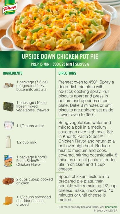 81 Best Images About Knorr Recipes On Pinterest