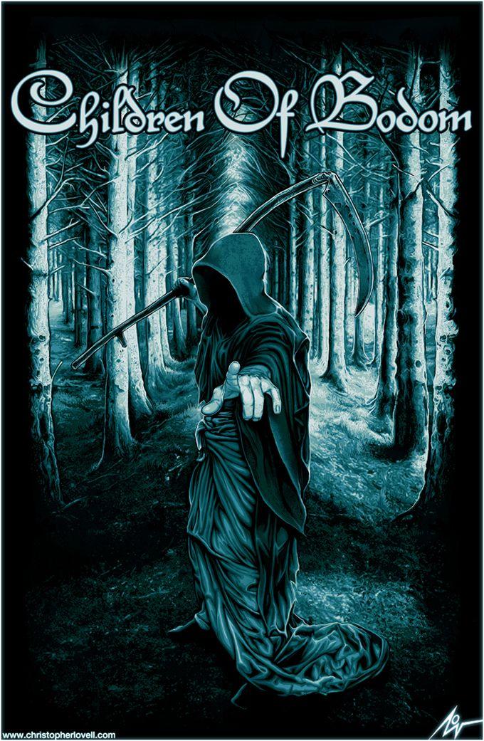 Children of Bodom ~ Christopher Lovell Art