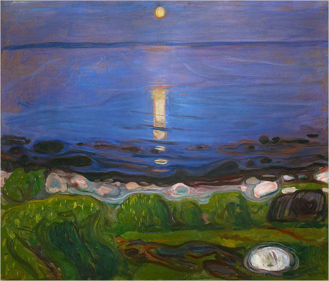 Edvard Munch - Summer Night