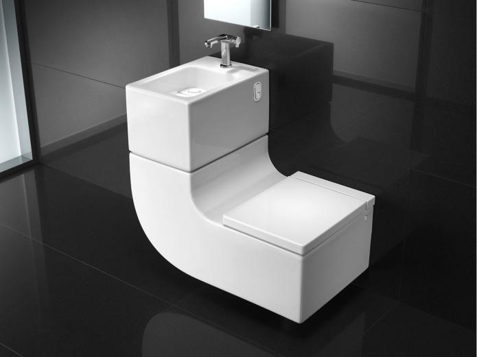 Roca W + W Integrated Washbasin