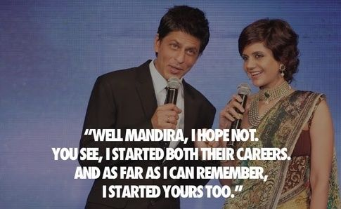 """Mandira Bedi: """"Do you think having Shilpa Shetty (Rajasthan Royals) and Preity Zinta (Kings XI Punjab) as rival team owners will sour their relations with you?"""
