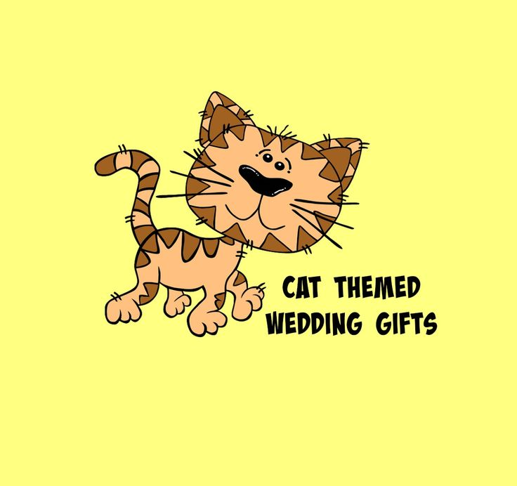 Cat Wedding Gifts perfectly designed and themed for Cat Lovers