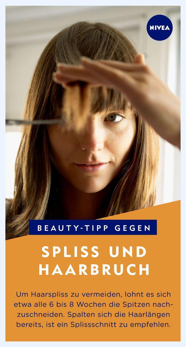 Was tun gegen Spliss: Pflegetipps Lange Haare mit gesunden Spitzen sehen gesund … – Designer.ca