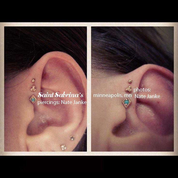 triple forward helix jewelry