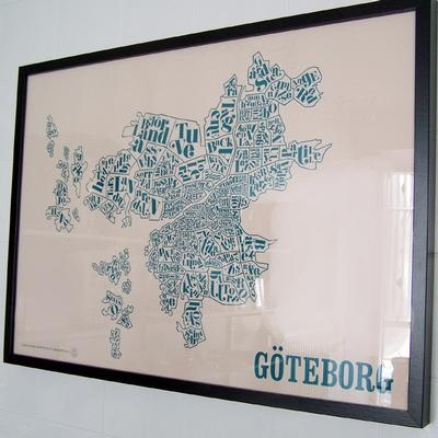 Göteborg print from Anyhow.