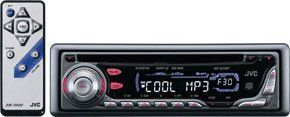 JVC In-Dash Car stereo MP3 / CD Player (KD-G300) (Discontinued by Manufacturer)
