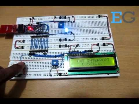 Use Interrupts With Arduino Board | Learning Arduino Interrupts: Project with Circuit Diagram