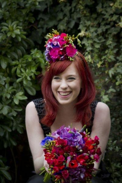 Purple Tiger Flowers - Weddings