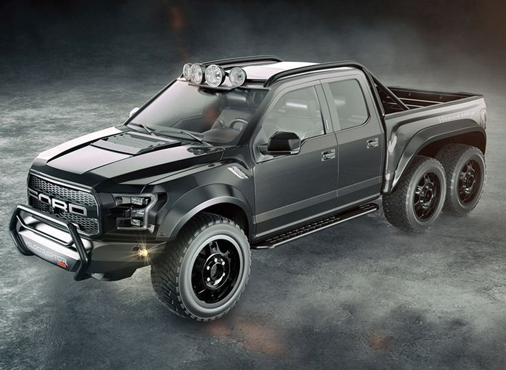 ford hennessey velociraptor 6x6 six wheels and 650 hp