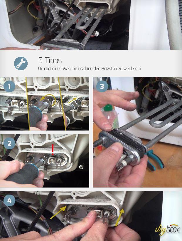 Es klingt so einfach und geht doch immer wieder schief. Also geben wir 5 Tipps, wie sich bei einer Waschmaschine der Heizstab wechseln lässt!