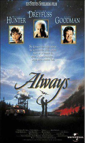 """ALWAYS"" (1989) HOLLY HUNTER, RICHARD DRYFUSS, JOHN GOODMAN"