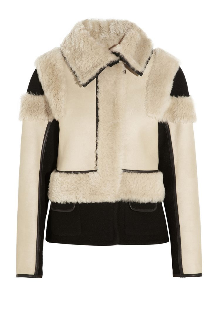 Fall 2013 Shearling Trend - Shearling Sweaters, Jackets and Accessories - ELLE