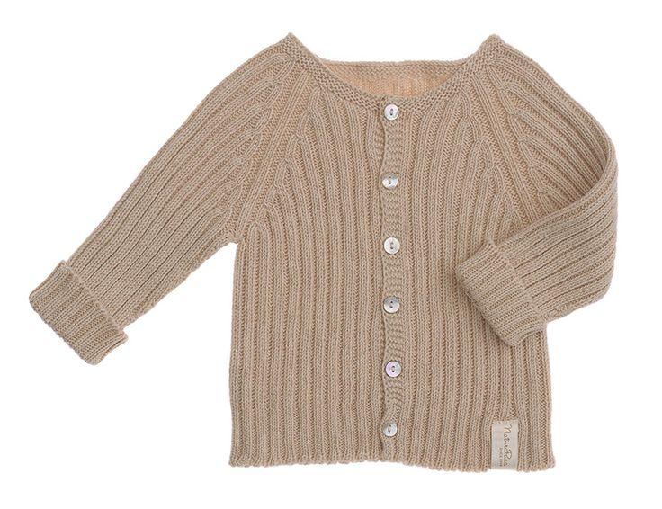 NATURAPURA - Maglione Bambino Manica Lunga - 100% Cotone Organico - Taglia: 6 mesi - Colore: Beige: Amazon.it: Prima infanzia