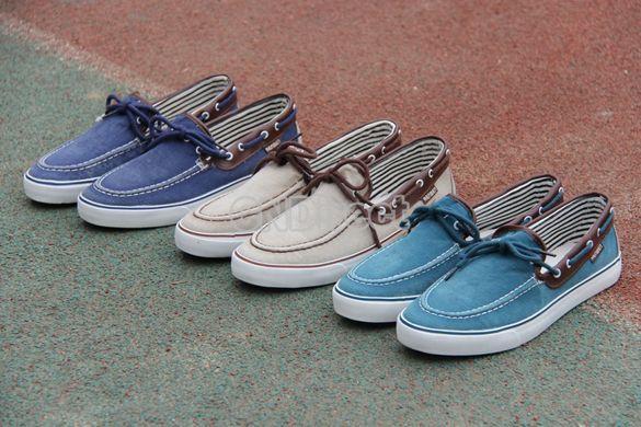 Men's Jeans Canvas Slip On Flats Loafer