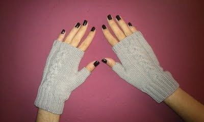 Braid Mittens