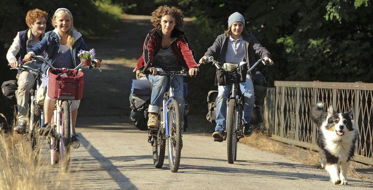 """Fünf Freunde 2 - In """"Fünf Freunde 2"""" machen Julian, Dick, George, Anne und Timmy eine spannende Fahrradtour."""