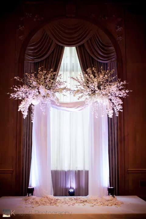 Grand Wedding Ceremony at The Fairmont Olympic Hotel Seattle - FLORA NOVA DESIGN SEATTLE
