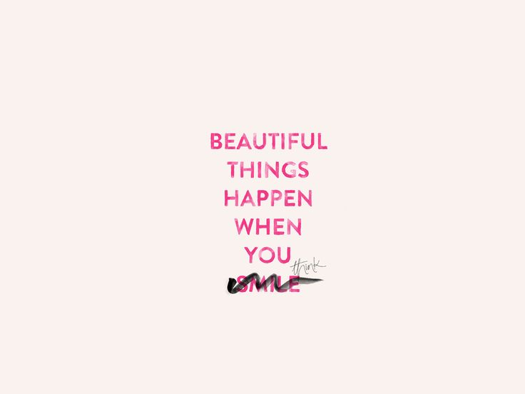 Wallpaper Quote Inspire Pink Cocorie