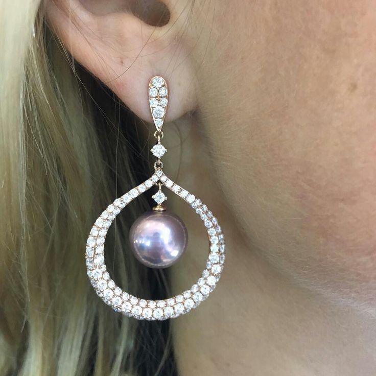 Schoeffel Pearl Earrings #Bjc #Schoeffel #JewelleryArabia
