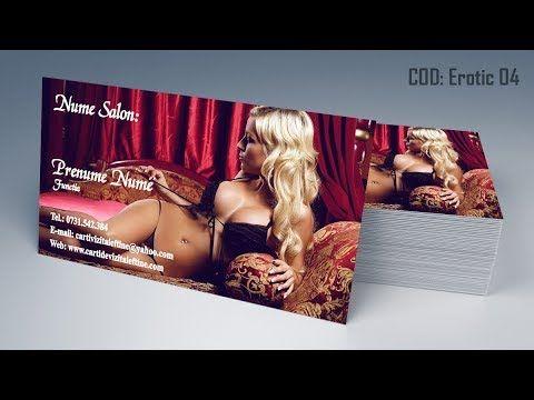 Carti de vizita Salon Masaj Erotic Video Chat by CDVi  http://cartidevizitaieftine.com/ va prezinta modele carti de vizita salon masaj erotic, sexy club, maseuza, studio video chat, erotic massage business cards templates. La noi in tipografia din Bucuresti le printam digital sau offset la calitate ireprosabila si cu finisari de exceptie, fiind atenti pana la cel mai mic detaliu. Le livram gratuit in Bucuresti si Ilfov, iar in tara livram in mai putin de 24 de ore.