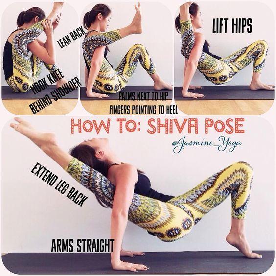 """1,977 """"Μου αρέσει!"""", 97 σχόλια - Jasmine Chong (@jasmine_yoga) στο Instagram: """"#JasmineYogaTutorial : #ShivaPose When I first saw this pose on Instagram, I couldnt figure out…"""""""