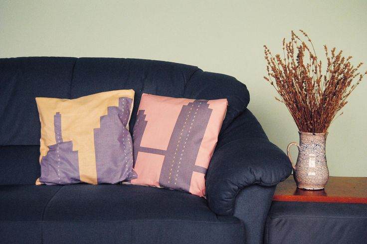BIG CITY LIGHTS PILLOW COVERS. Perfect for your bedroom or to lighten up you living room! buy yours on www.serro-store.com
