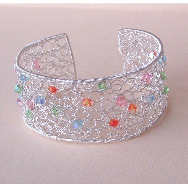 wire Crocheted jewelry | HOW TO CROCHET WIRE JEWELRY « Fine Jewelry