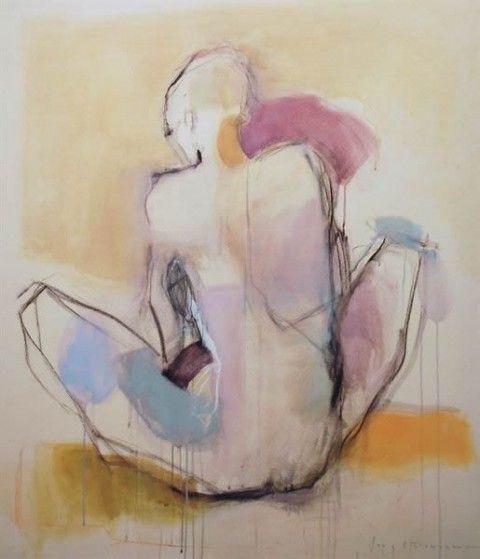 Woman by Kate Long Stevenson #art #women #paintings