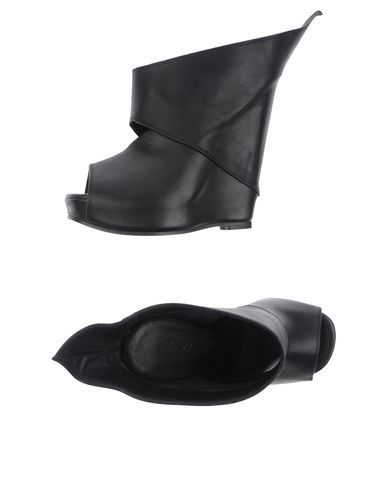 Rick owens Women - Footwear - Wedge Rick owens on YOOX | See more about Rick Owens, Rick Owens Women and Footwear.