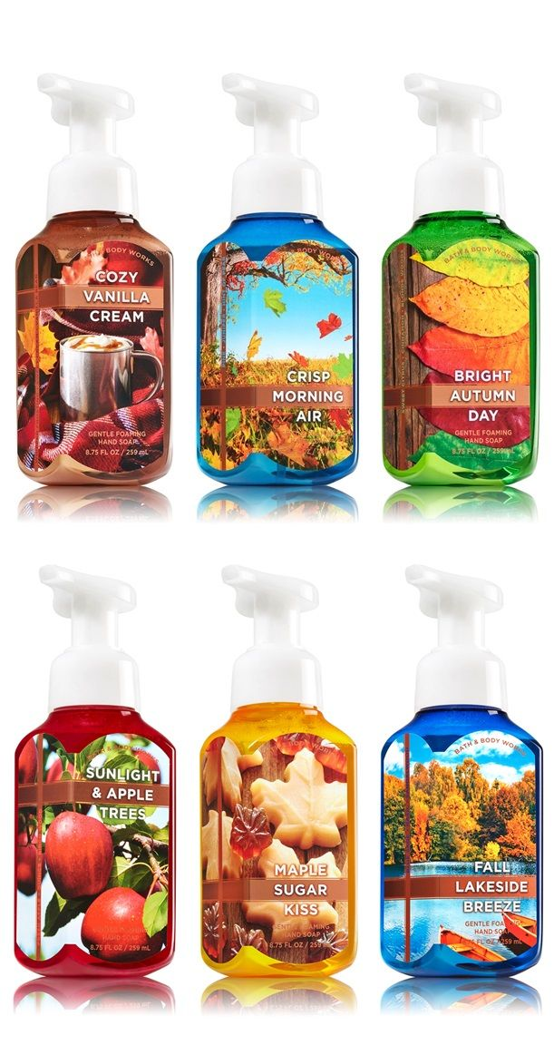 Bath and Body Works Fall 2015 Hand Soaps Available Now