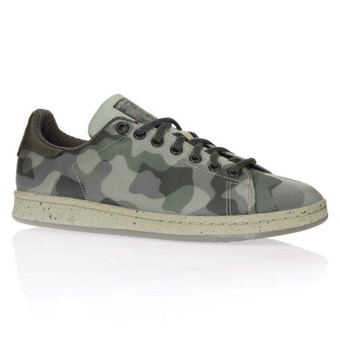 Stan Homme Chaussures Smith Militaire Adidas Camouflage XZiwOPuTlk