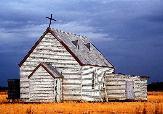 Old Church between Echuca and Swan Hill