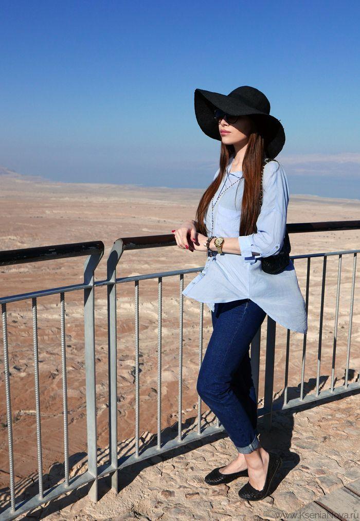 Израиль. День третий. Крепость Масада. Кибуц. Мертвое море. / Israel. Massada. Dead Sea.