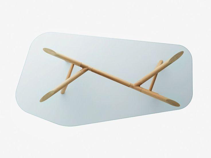 OTTO Glass Table By Miniforms Design Paolo Cappello