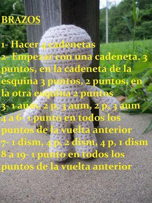 EL CACTUS AMIGU: PATRÓN BASICO PARA MUÑECO AMIGURUMI