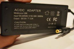 Amazon.com: LTE LED Strip Power Adaptor, Transformers,100 - 240V AC Input Voltage, Power supply for LED strip lights, DC 12V Output Voltage, 3A Max, 36 Watt Max: Electronics