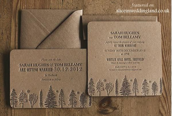 The stunning art form that is letterpress create stunning, unique wedding invitations. You can see it and touch it - be a part of it.
