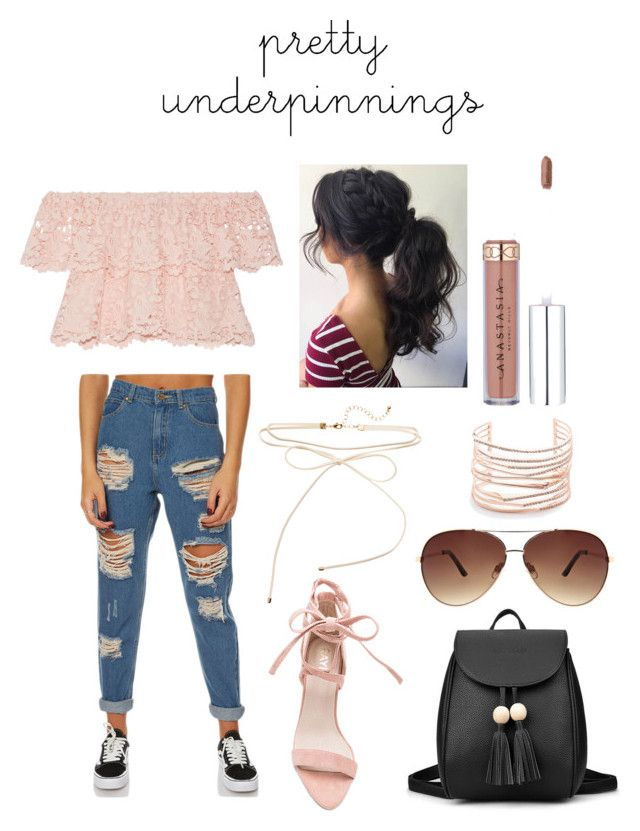 """""""Pretty in pink"""" by francescaquaglia on Polyvore featuring Miguelina, Afends, Ashley Stewart, Alexis Bittar and grlpwr"""